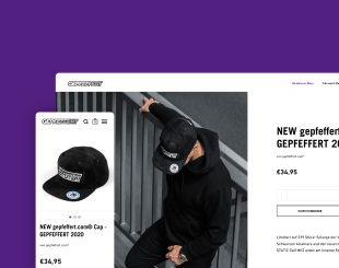 Gepfeffert.com: Website- Relaunch und E-Commerce Plattform